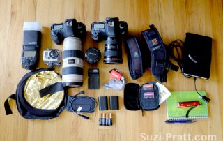 Event photography camera gear
