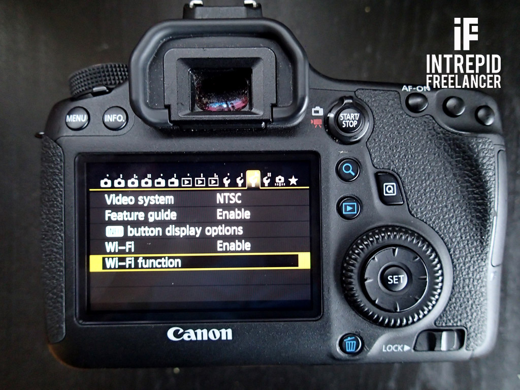 how to connect my canon mg3500 to my wifi