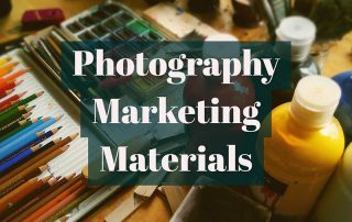 Photography Promotion Materials
