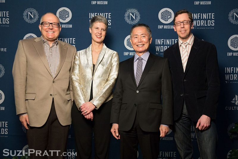 "Opening Night Of EMP Museum's ""Infinite Worlds Of Science Fiction"" Exhibit George Takei"
