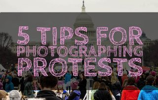 protest photography tips